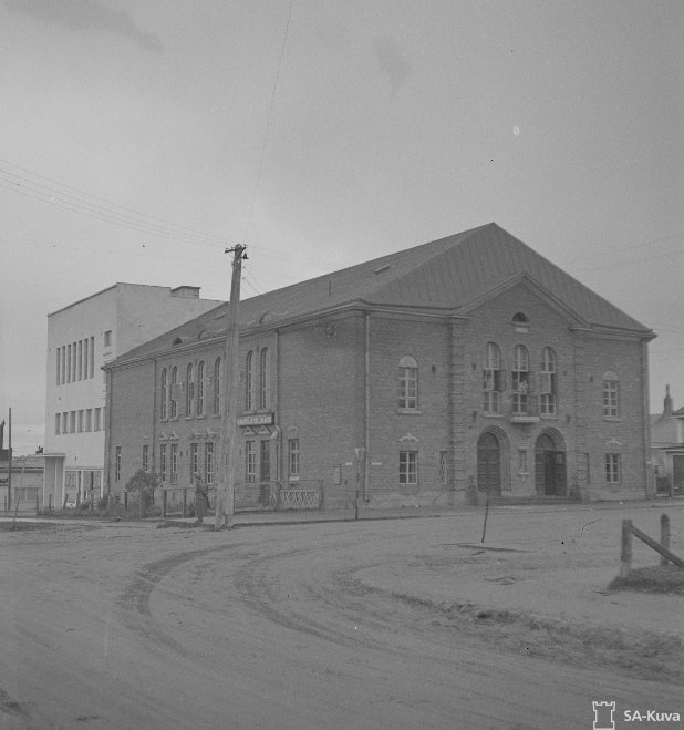 Kemin Pirtti 10.10.1944. Kuva: SA Kuva